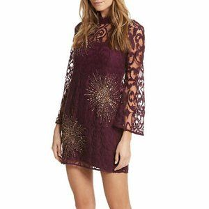 FREE PEOPLE WOMENS NORTH STAR A-LINE DRESS